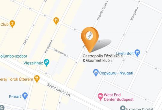 terkep,gastropolis, google gastropolis